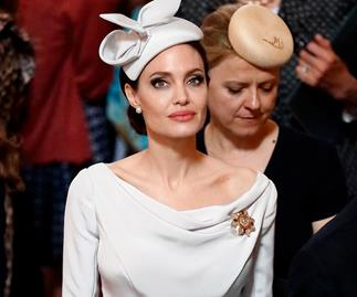 Angelina Jolie wearing Ralph & Russo.