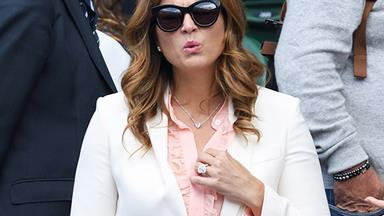 Mirka Federer's Massive Engagement Ring Is Distracting The Wimbledon Crowd