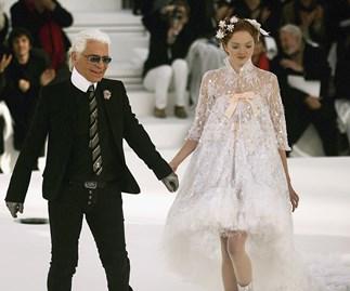 Chanel bride.