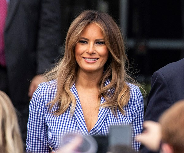 Melania Trump Fourth Of July 2018
