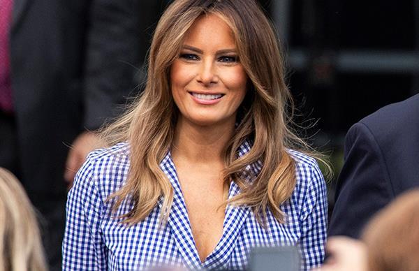 Melania Trump Fourth Of July 2018