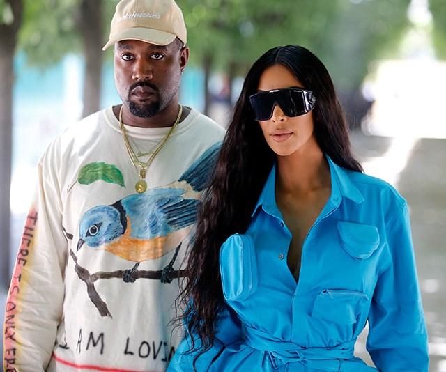 Take A Look Inside Kim And Kanye's Former Bel Air Mansion