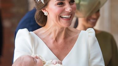 Kate Middleton's Out-Of-The-Box Hat At Prince Louis' Christening