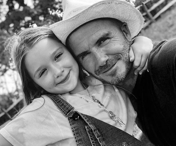 David And Victoria Beckham Bought Harper A $12,500 Present For Her 7th birthday