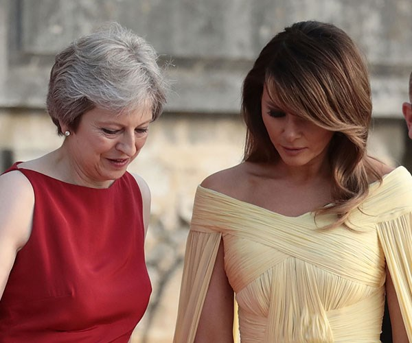 Melania Trump UK visit 2018