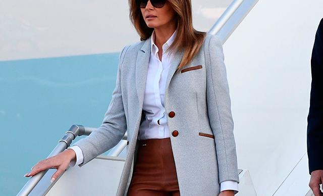 Melania Trump Posed As The First Female President For An Ad In The '90s