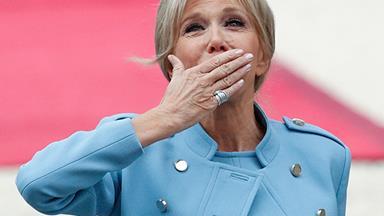 Charting Brigitte Macron's Best Louis Vuitton Fashion Moments