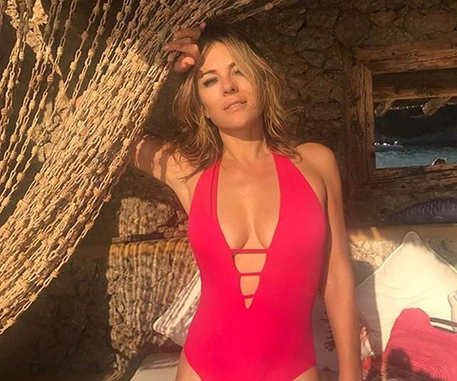 Elizabeth Hurley Bikini Moments