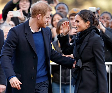 Prince Harry And Meghan Markle's 10 Best Public Displays Of Affection