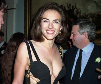 Elizabeth Hurley Versace Dress