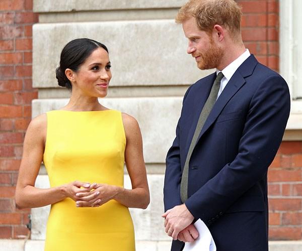 Meghan Markle First Birthday As A Royal