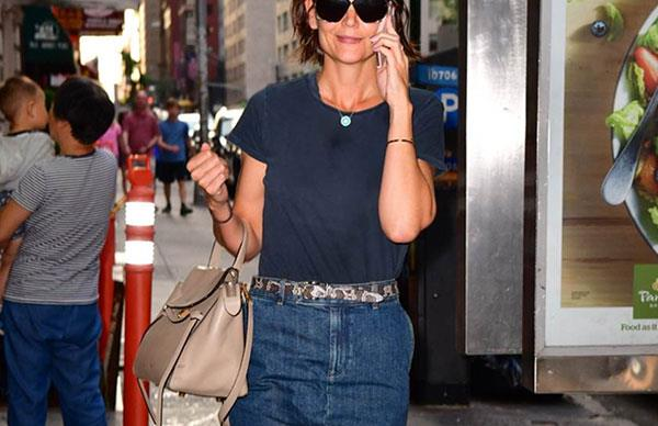 katie holmes style