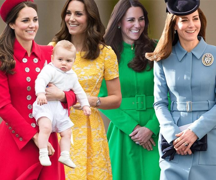Kate Middleton colours.