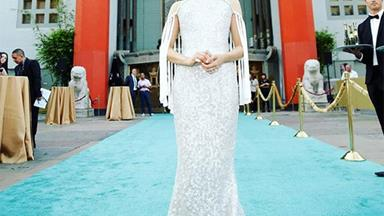Constance Wu's 'Crazy Rich Asians' Gown Took 490 Hours To Make