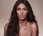 Kim Kardashian West Goes Practically Naked In Yeezy's Latest Campaign