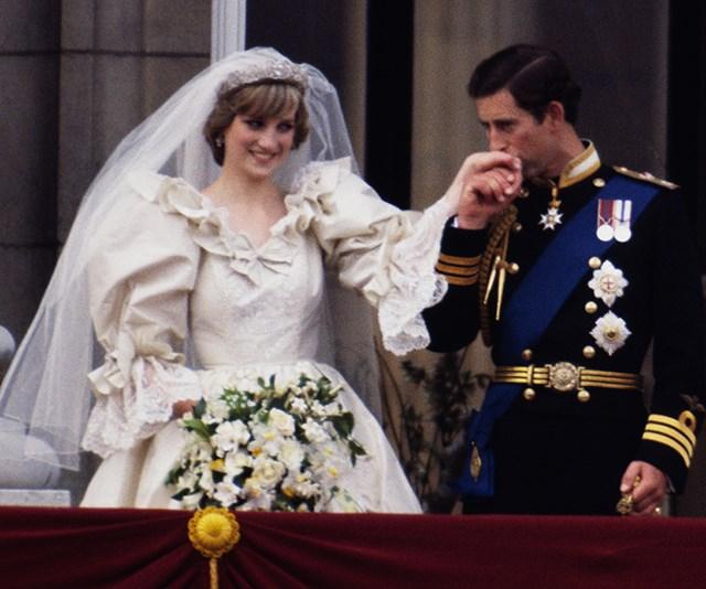 princess diana second wedding dress