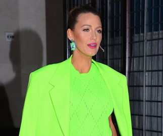 Blake Lively A Simple Favour Press Outfits