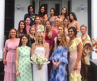 celebrity bridesmaid