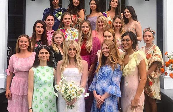 celebrity bridesmaid