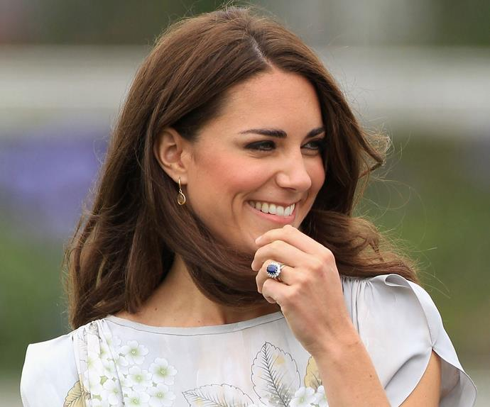 Kate Middleton Engagement Ring Controversy