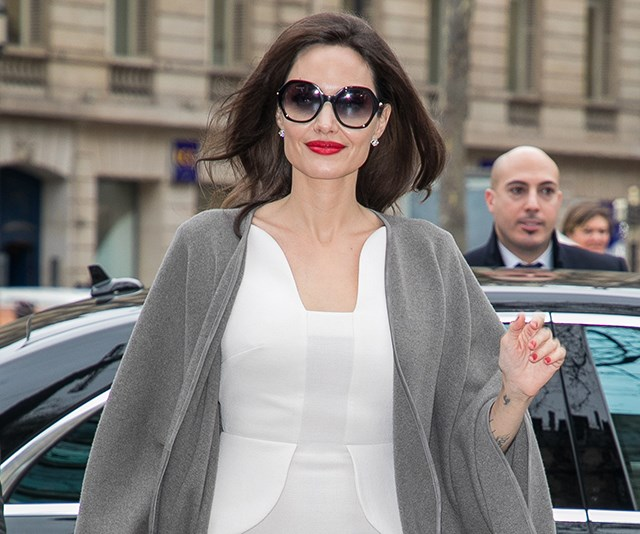 Angelina Jolie Post Divorce Style