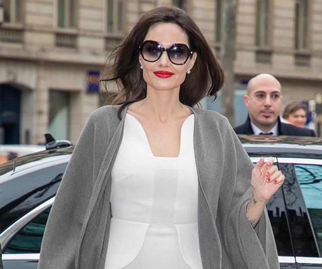 Angelina Jolie Post Divorce Style