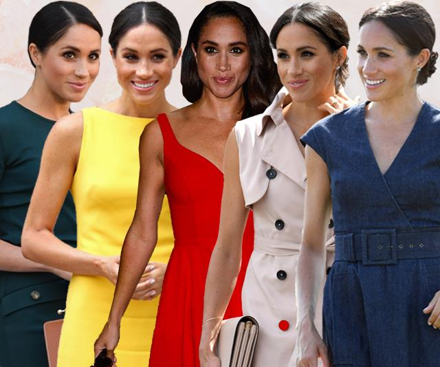 meghan markle colours