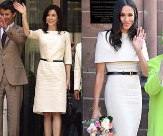 Meghan Markle Princess Mary Style Twins