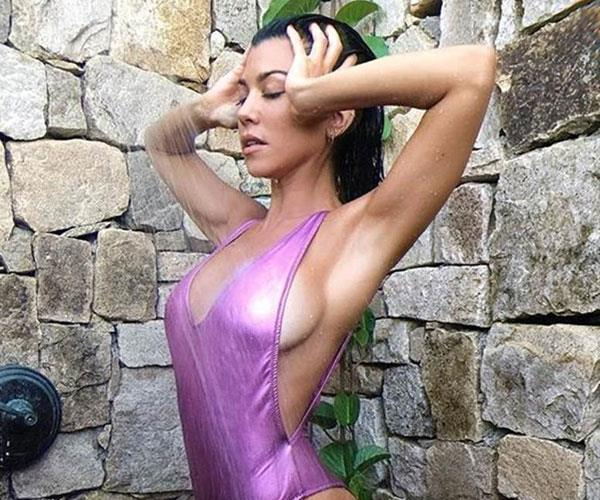 Kourtney Kardashian Revenge Bikini Photos