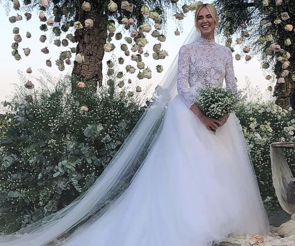 Chiara Ferragni Wedding Dresses