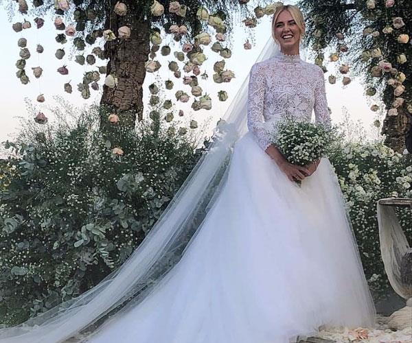 Chiara Ferragni Wedding Dresses