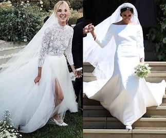 Chiara Ferragni Meghan Markle Wedding Dress Sales