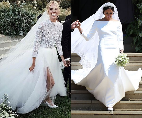 Chiara Ferragni Meghan Markle Wedding Dress Sales