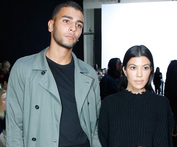 Kourtney Kardashian Younes Bendjima Malibu Reunion