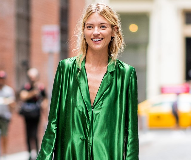 new york fashion week model style