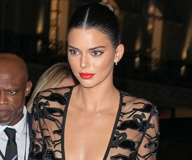 Kendall Jenner Just Casually Freed The Nipple In Paris