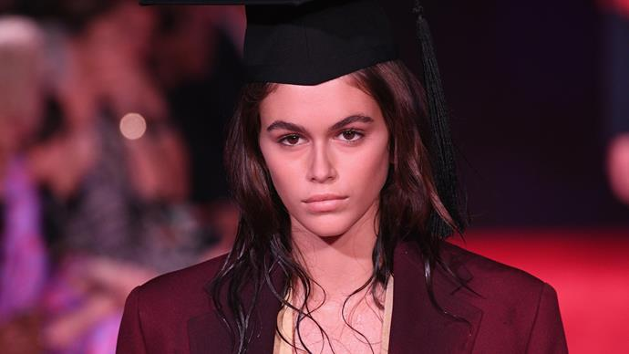 Throw Your Hairdryer Away - Calvin Klein Just Made Half-Wet Hair High Fashion