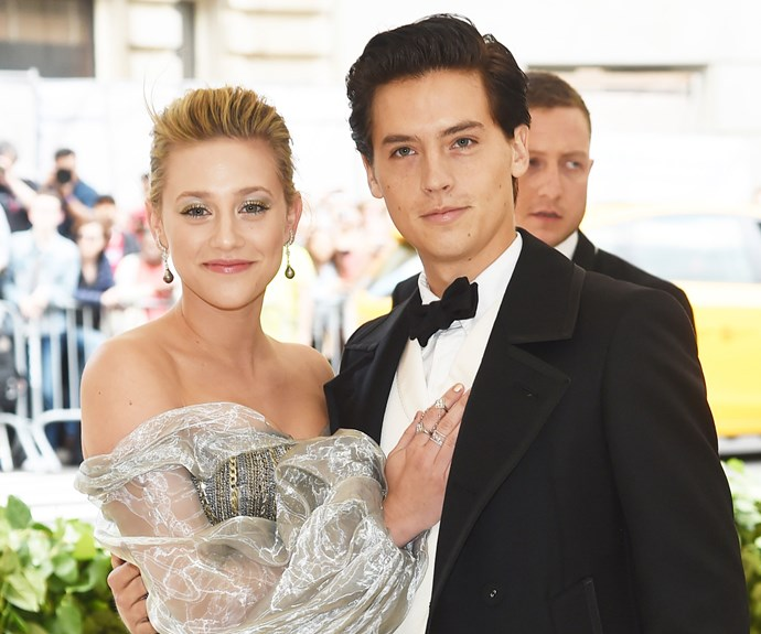 Lili Reinhart Cole Sprouse Cute Couple Moments