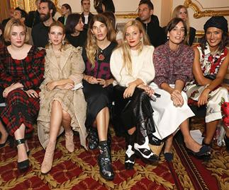 Celebrity Front Row From London Fashion Week 2018