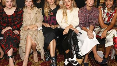 All The Celebrity Front Row From London Fashion Week