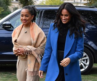 Meghan Markle And Her Mum, Doria Ragland, Have A Chic Twinning Moment In London