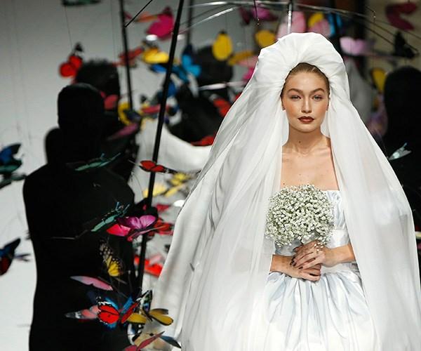 Gigi Hadid Walked The Runway As A Designer Bride