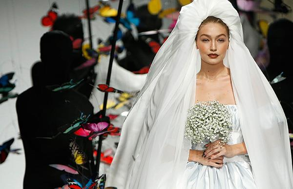 Gigi Hadid Walked The Runway As A Designer Bride