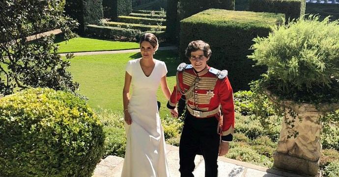 Fernando Fitz-James Stuart and Sofia Palazuelo.