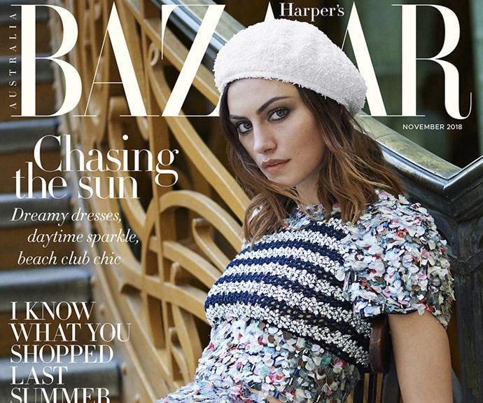 Phoebe Tonkin Harpers BAZAAR Australia Cover