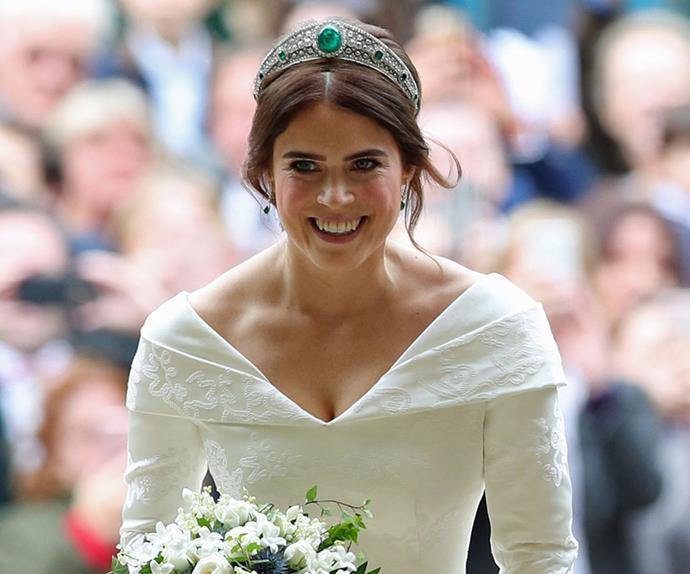 Princess Eugenie of York wedding tiara.