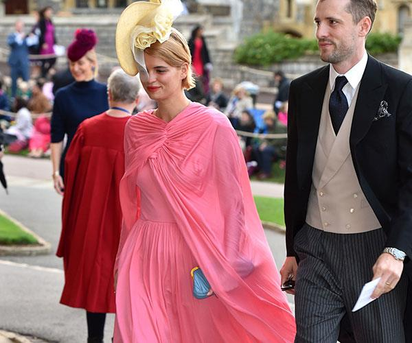 Guests at Princess Eugenie's royal wedding.