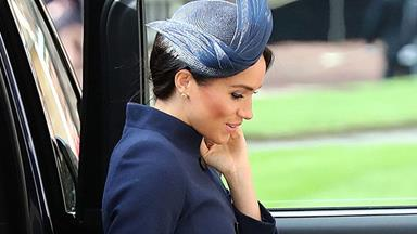 Meghan Markle Sports An Unexpected Look At Princess Eugenie's Wedding