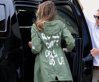 Melania Trump Zara Jacket Comments