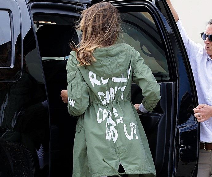 Melania Trump Zara Jacket Comments